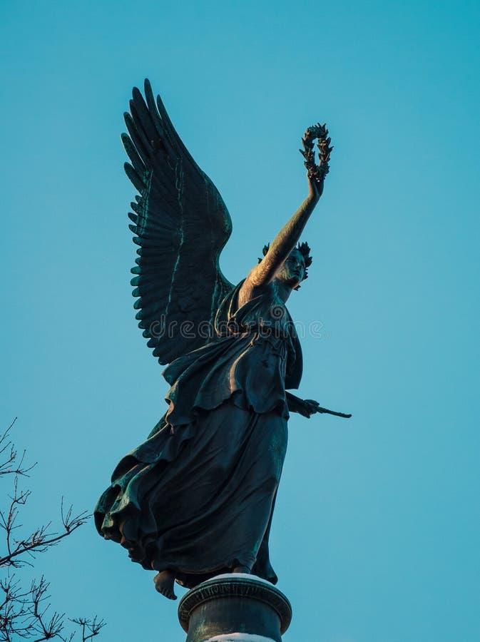 Download Goddess Nika stock image. Image of nike, sculpture, ancient -  52473861