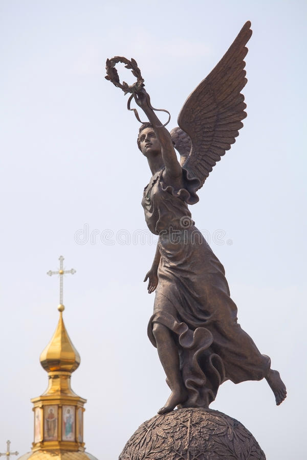 Download Goddess of victory Nike. stock image. Image of statue - 40715517