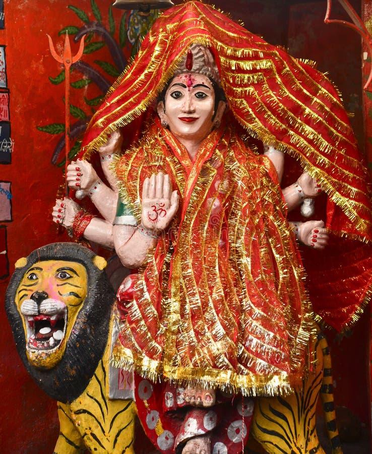 Godin Durga stock foto's
