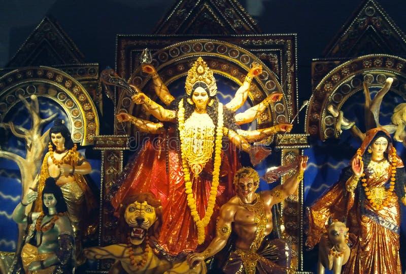 Godin Durga stock afbeelding