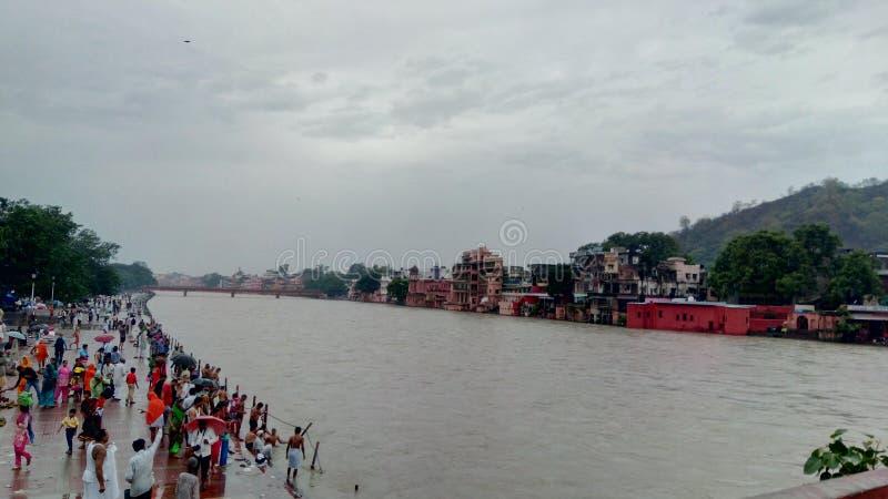 Godin Ganga stock afbeeldingen