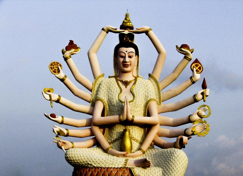 Godin Shiva stock fotografie
