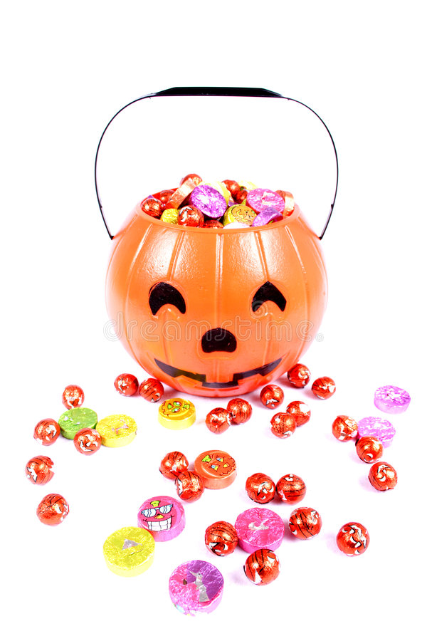 godis halloween royaltyfri foto