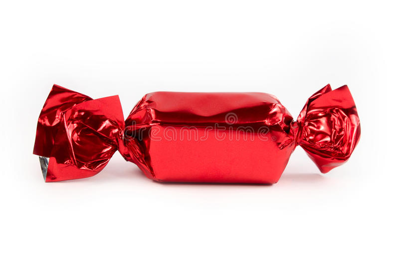 godisen isolerade röda single royaltyfri bild
