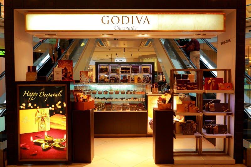 Godiva商店 免版税库存图片