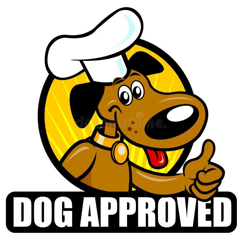 godkänd hundskyddsremsa stock illustrationer