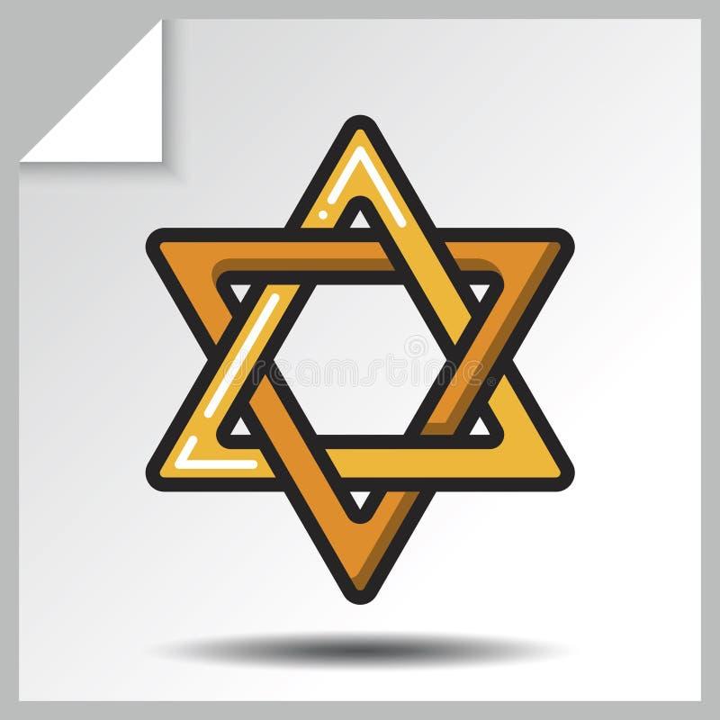 Godsdienst icons_4 royalty-vrije illustratie