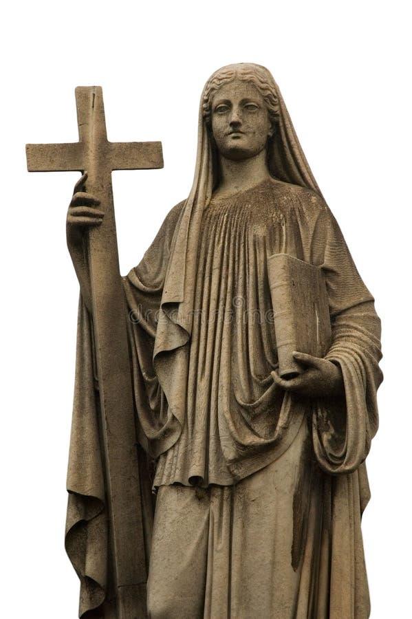 Godsdienstig standbeeld royalty-vrije stock foto
