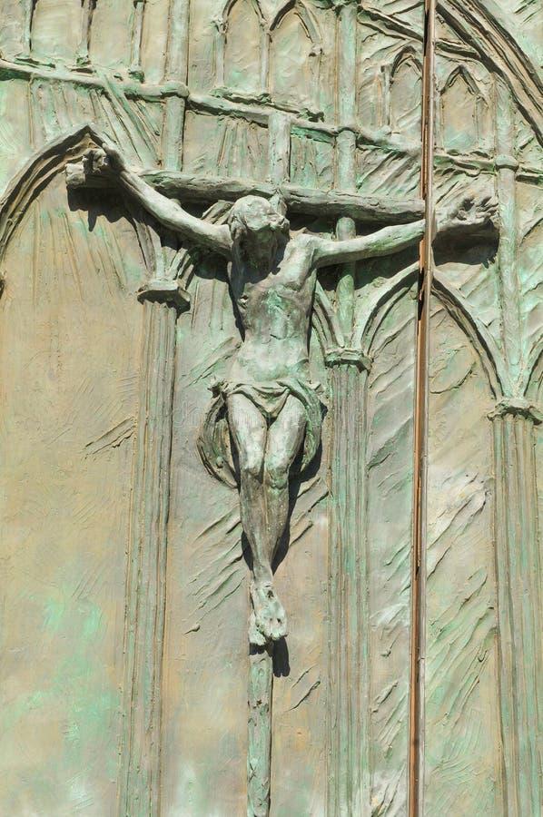 Godsdienstige architectuur in Madrid, Spanje royalty-vrije stock foto's