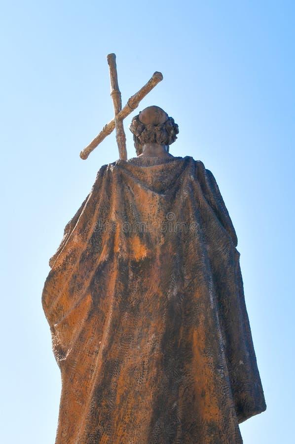 Godsdienstige architectuur in Madrid, Spanje stock afbeeldingen