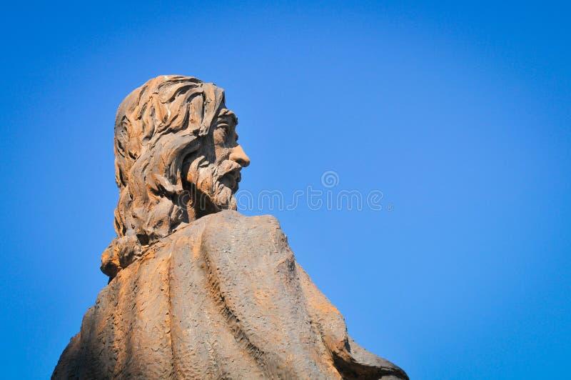 Godsdienstige architectuur in Madrid, Spanje royalty-vrije stock foto