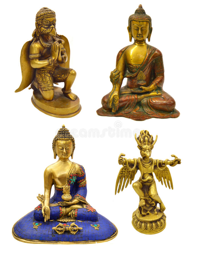 Godsdienstige beeldjes stock foto's