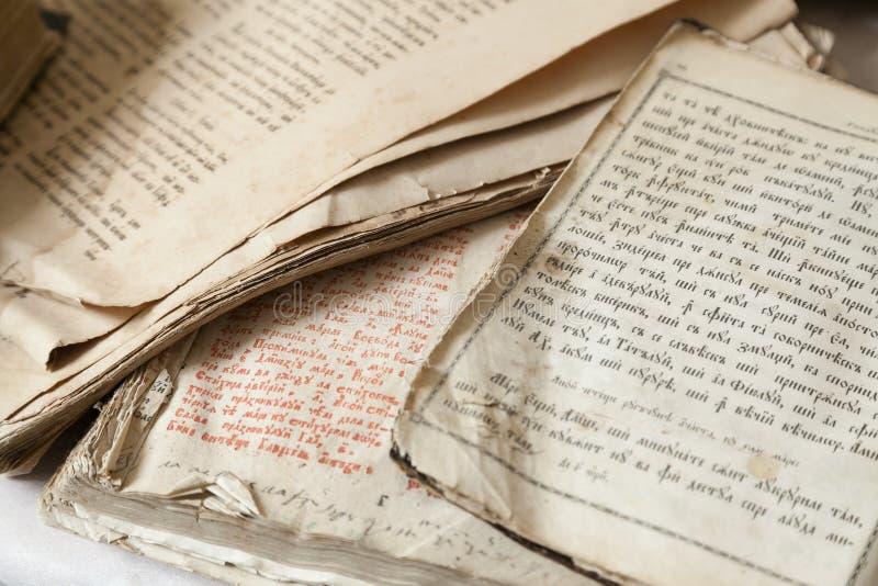 Godsdienstige scriptures stock afbeeldingen