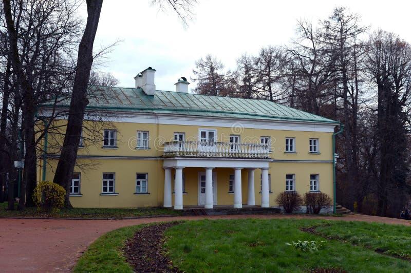 Godset av Gorki, Vladimir Lenin Södra vinge royaltyfri foto