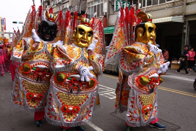 Godsfestival van Taiwan stock foto's