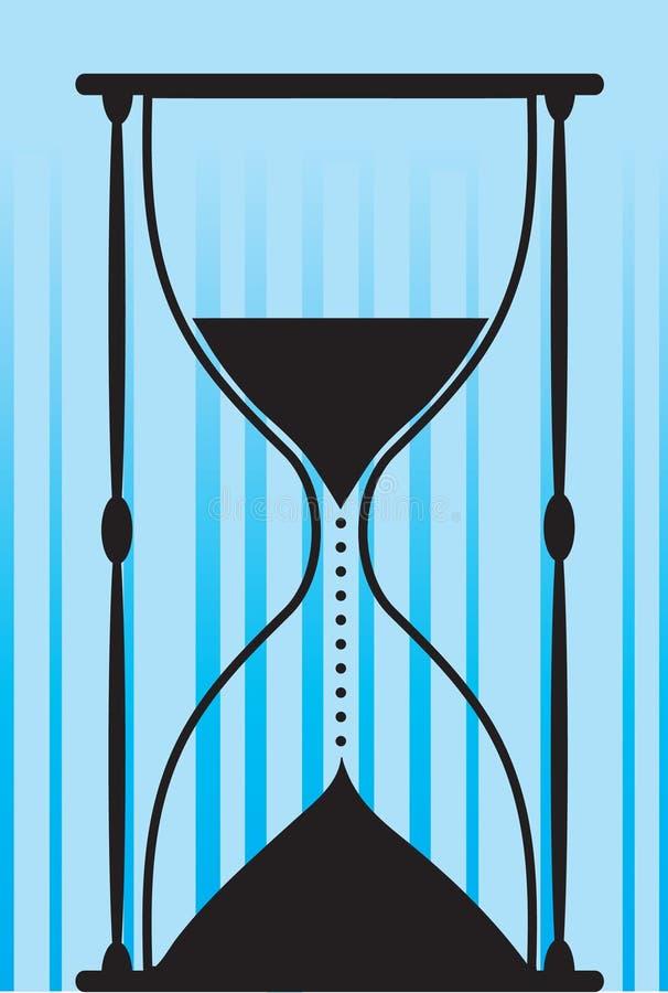 godzina szklana ilustracja wektor