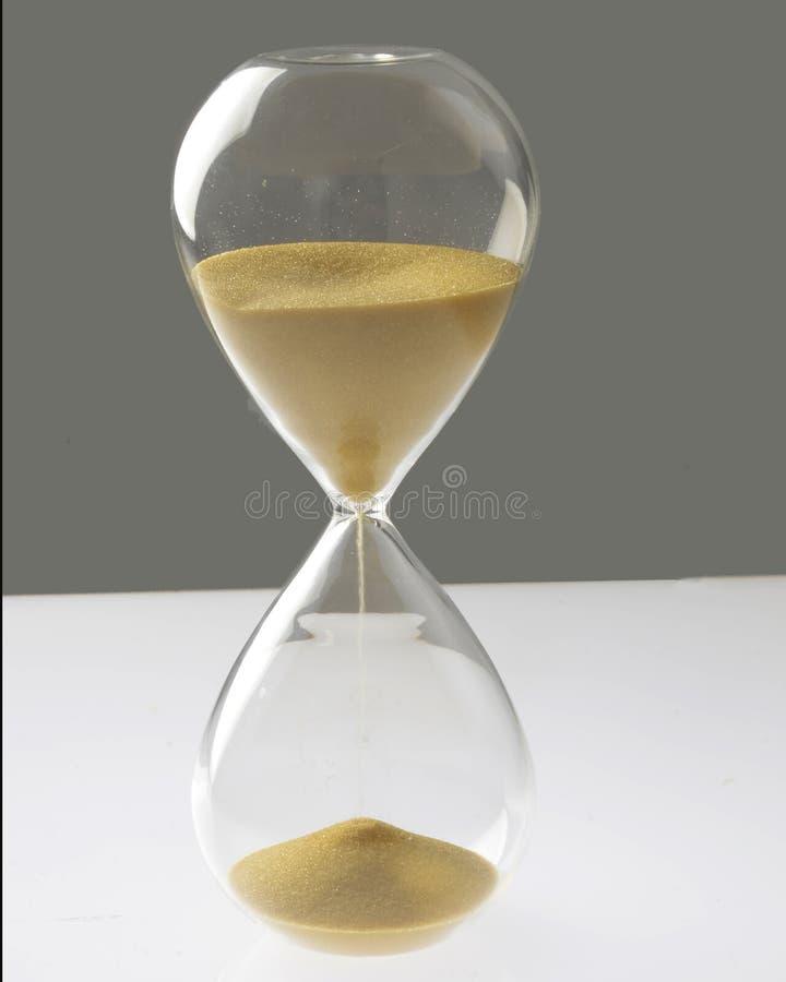 Godziny szkło zdjęcie stock