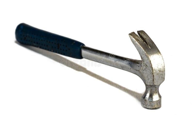 Goed gebruikte hamer stock fotografie