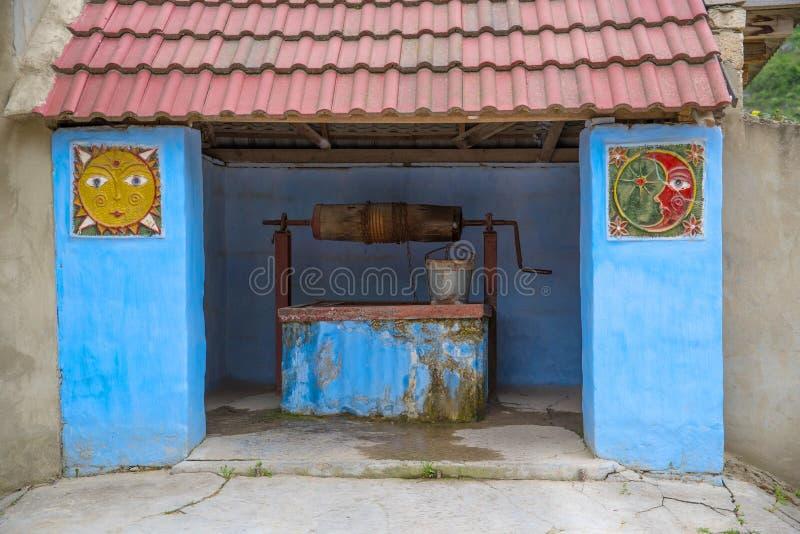 Goed in Oude Orhei, Moldavië royalty-vrije stock afbeelding