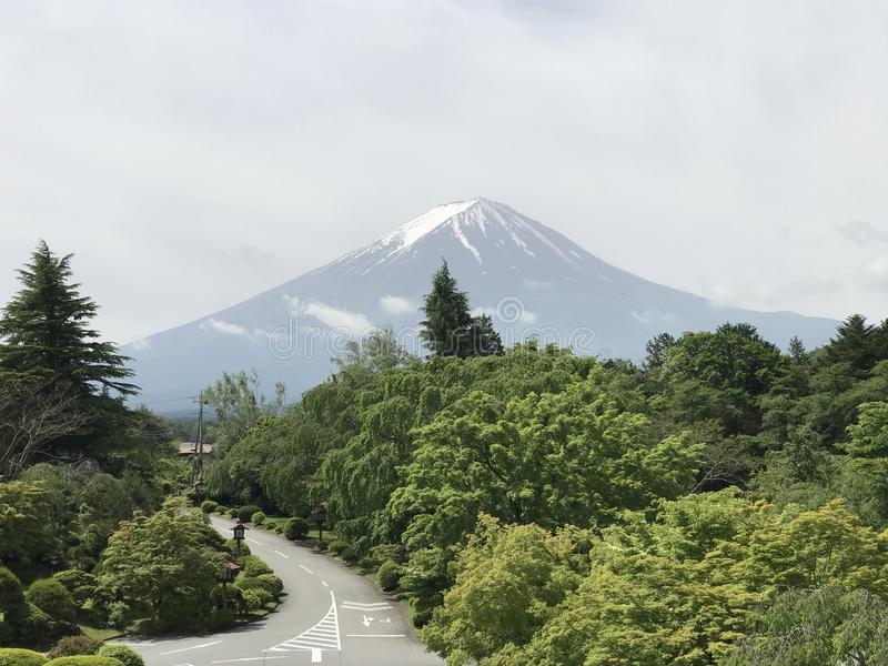 Goede Fuji-Ochtend stock foto