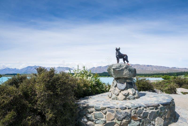 Goede Herder Statue royalty-vrije stock foto