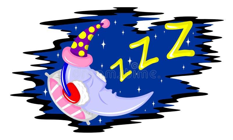 Goede nacht royalty-vrije illustratie
