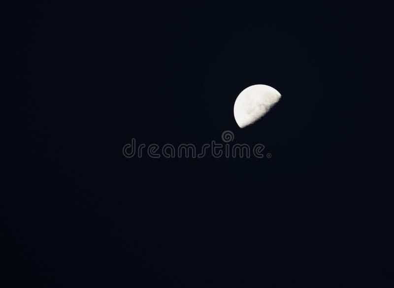 Goede nacht aan de halve maan royalty-vrije stock afbeelding