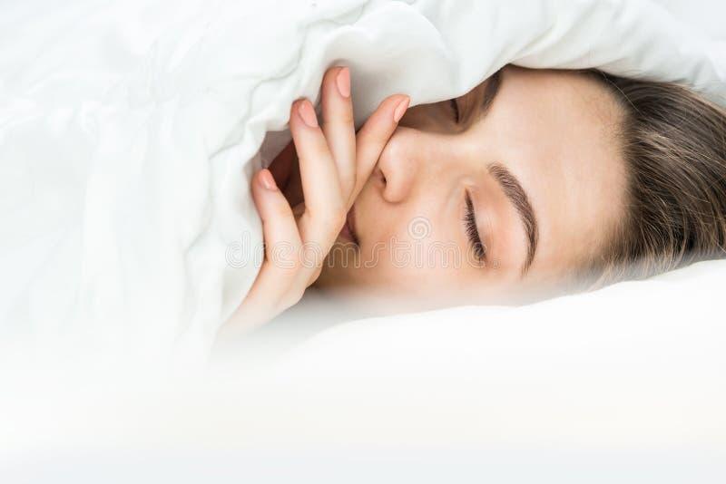 Goede nacht zoete dromen stock foto