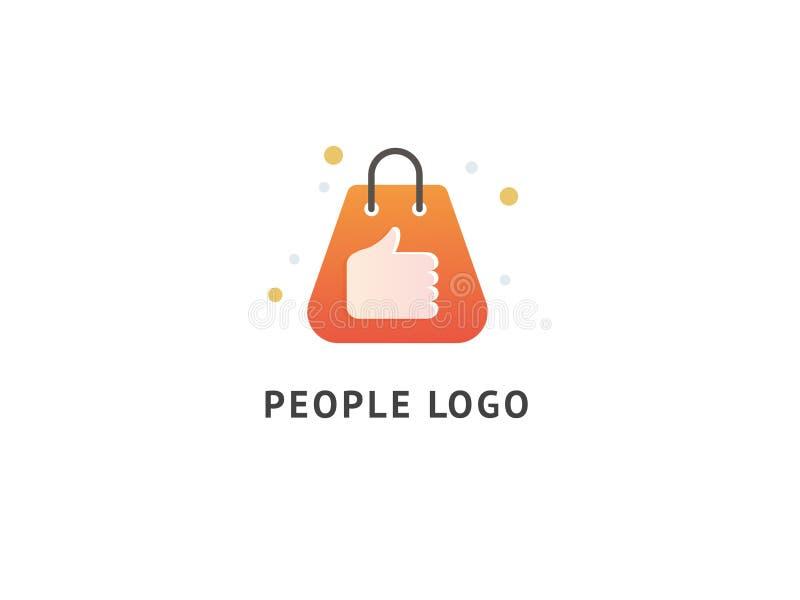Goede Winkel Logo Template Design Vector stock illustratie