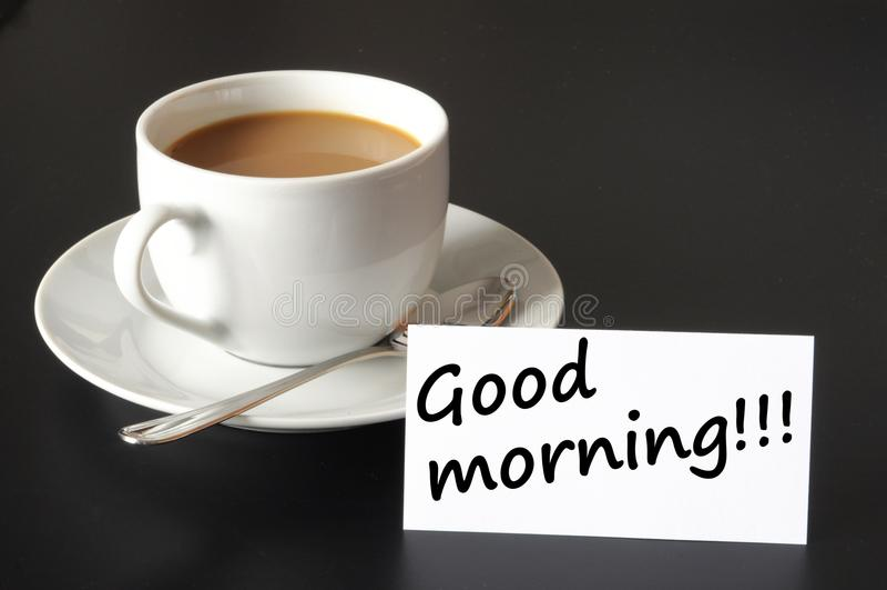 Goedemorgen royalty-vrije stock foto