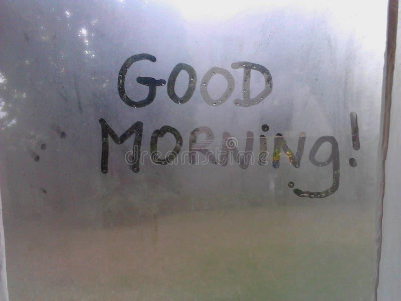 Goedemorgen! stock afbeeldingen