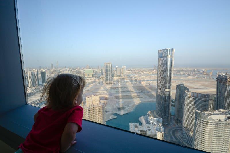 Goedemorgen, Abu Dhabi! stock afbeeldingen