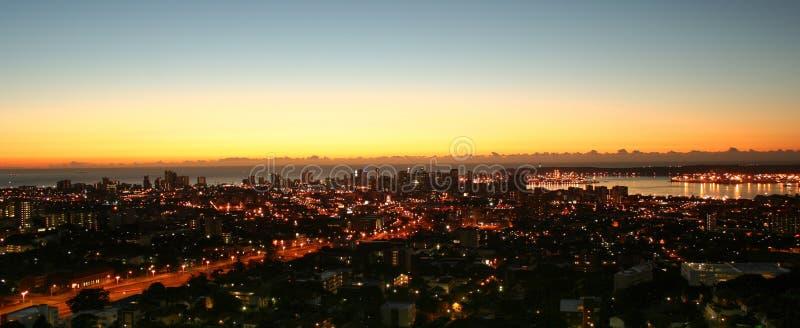 Goedemorgen Durban stock foto's