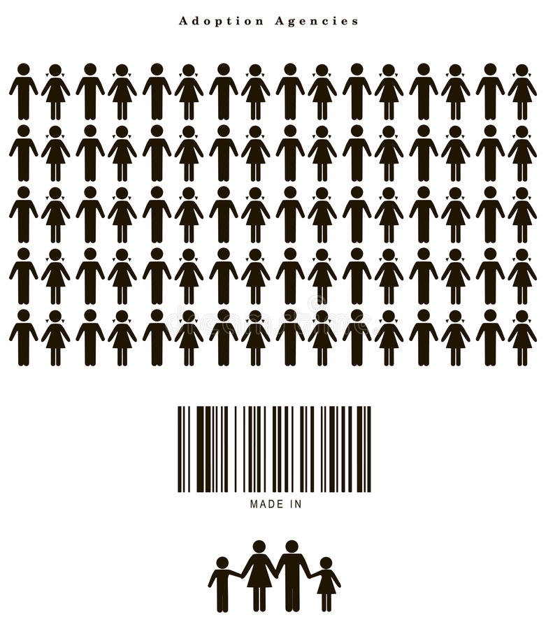 Goedkeuringsagentschappen royalty-vrije illustratie