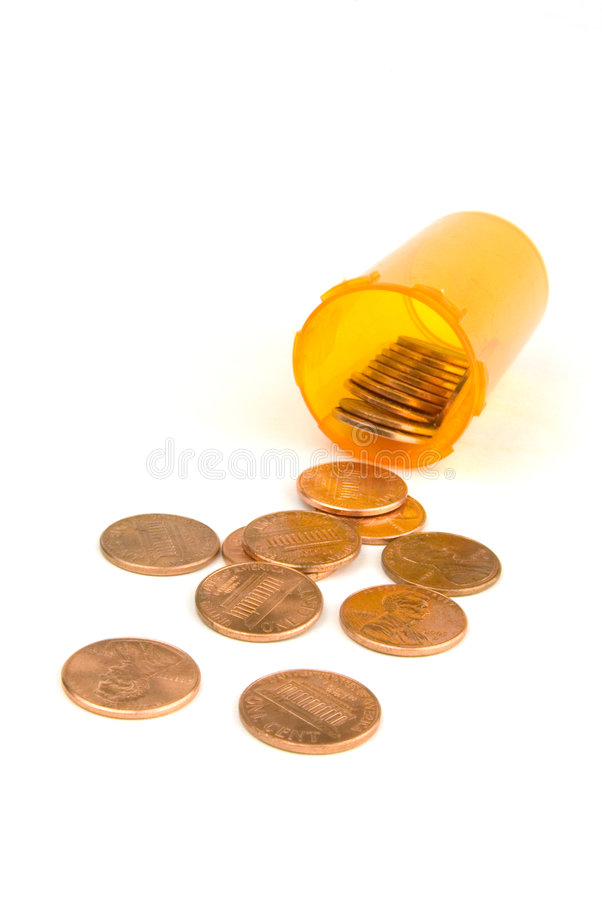 Goedkope drug royalty-vrije stock afbeelding