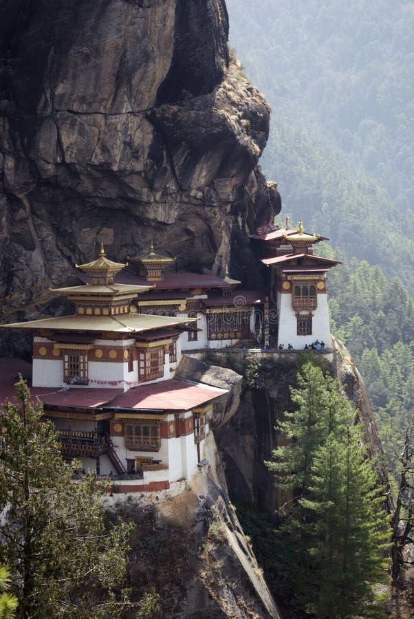 goemba του Μπουτάν taktshang στοκ εικόνα