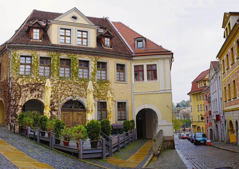 Goerlitz - border town, Germany stock images