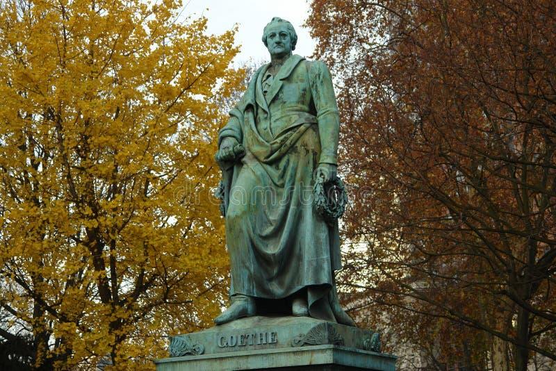 Goethe imagen de archivo
