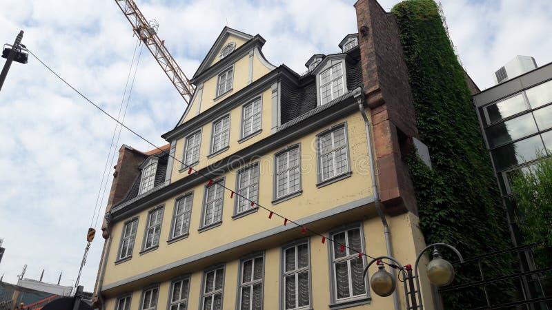 Goethe-casa immagini stock