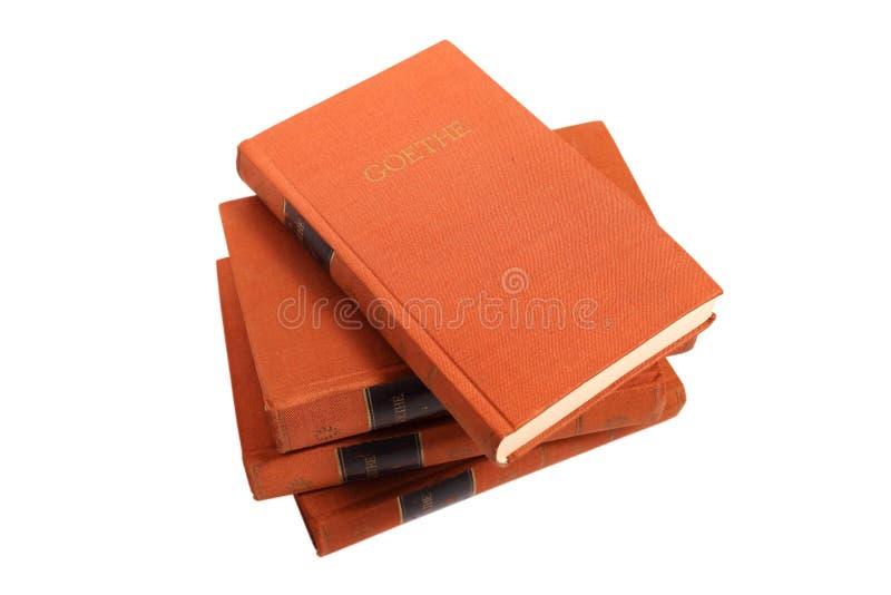 Goethe's książki zdjęcia stock