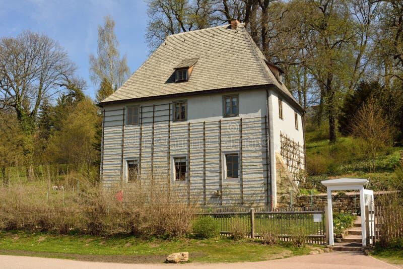 Goethes Gartenhaus à Weimar photo stock
