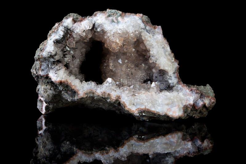 Goethitekristalle lizenzfreie stockbilder