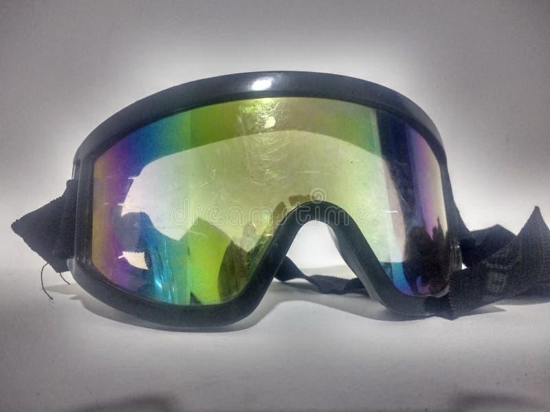 goggles stock foto's