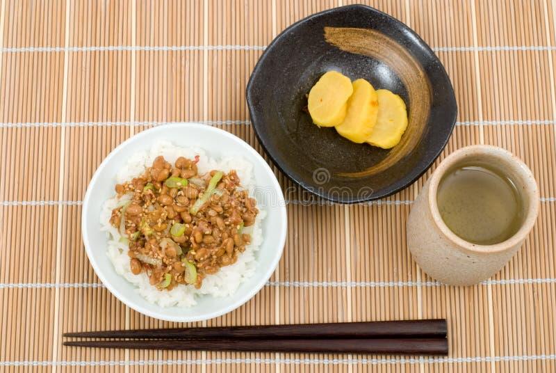 gohan natto стоковые фотографии rf