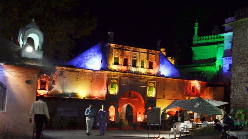 Gohar mahal, Bhopal obraz royalty free