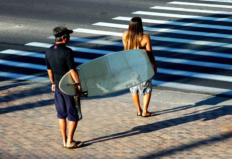 goin surfin στοκ φωτογραφίες