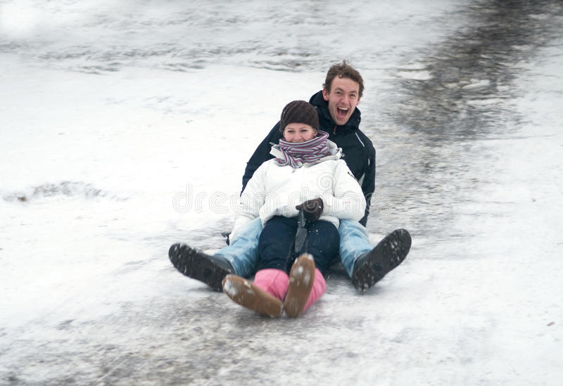 Download Going Down stock photo. Image of laugh, youngster, cold - 12713546