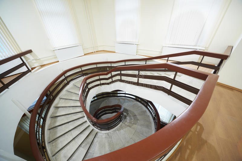 Download Going Down Spiral Staircase Royalty Free Stock Photo - Image: 23604305