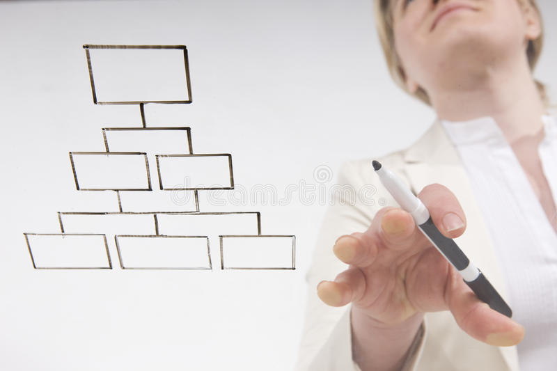 Download Going with the flow chart stock image. Image of blond - 9726897