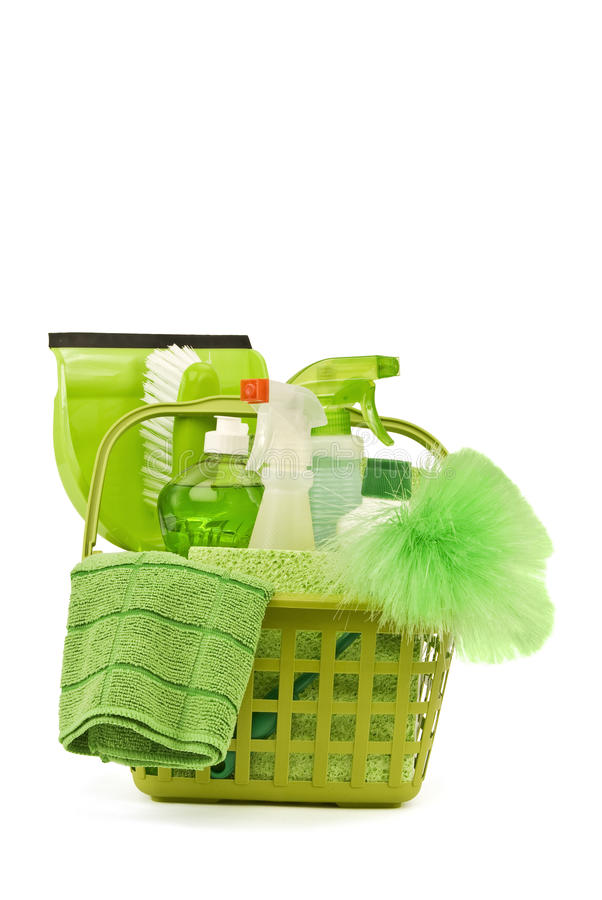 Free Going Green With Cleaning Stock Photography - 51636152